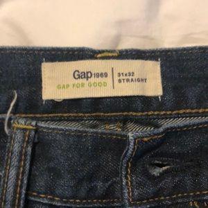 "Gap ""Gap For Good"" Men's denim jeans"